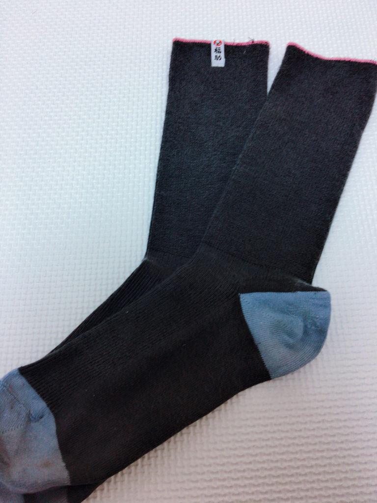 臭くなりにくい靴下のスーツ専用ソックス写真